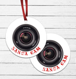 Santa Cam Ornament