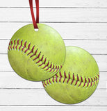 Sports Ball Ornament