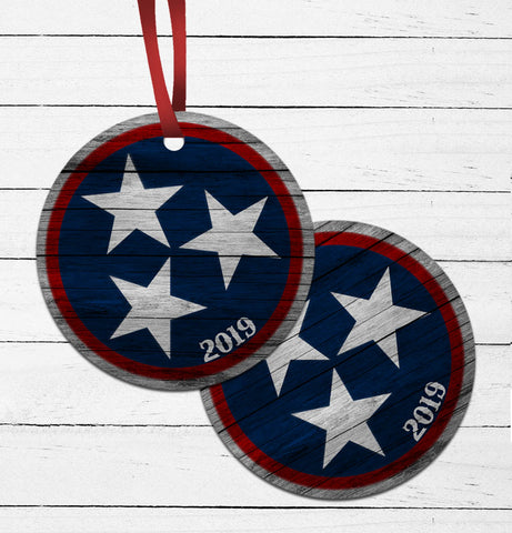Tennessee Tri-Star Ornament