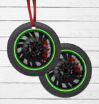 Custom Wheel Ornament