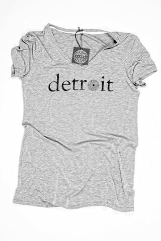 The Detroit Tee - Relaxed V-Neck