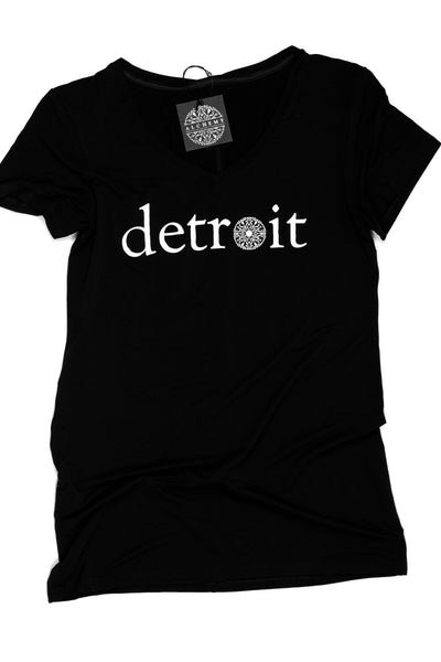 The Detroit Tee - Fitted V-Neck