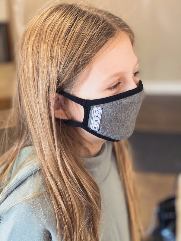 kids mask periscope gray