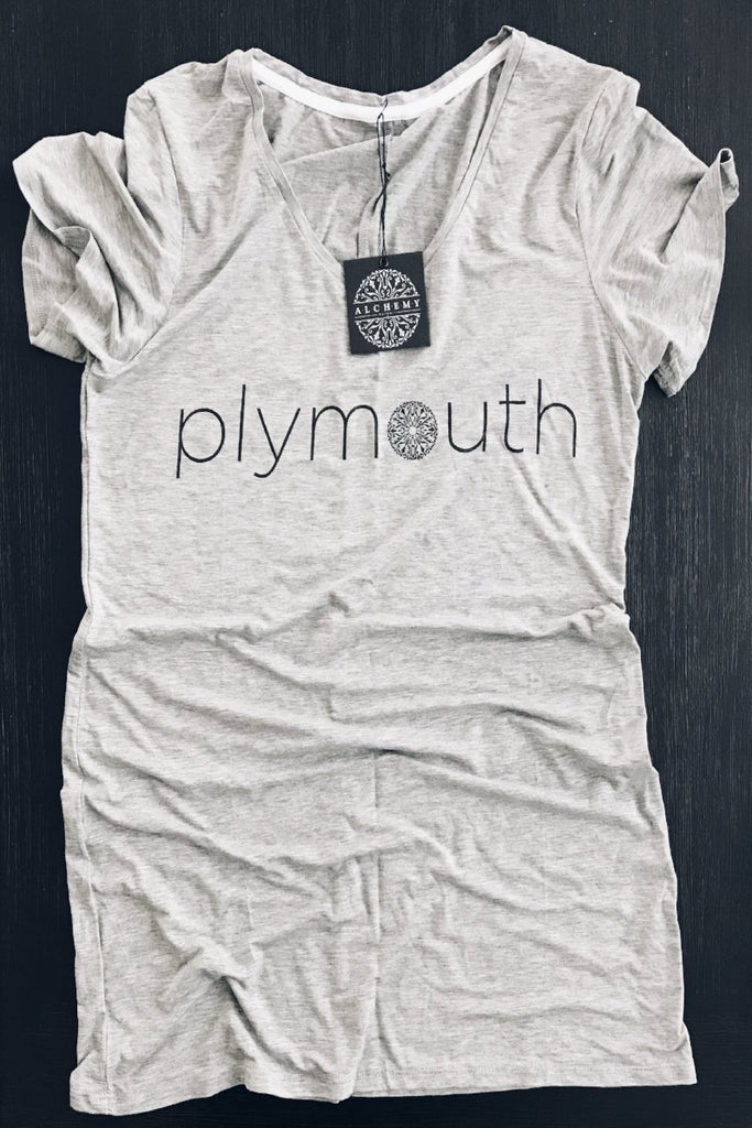 The Plymouth Short Sleeve Relaxed V-Neck