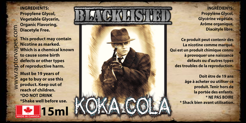 Koka Cola Blacklisted 15ml
