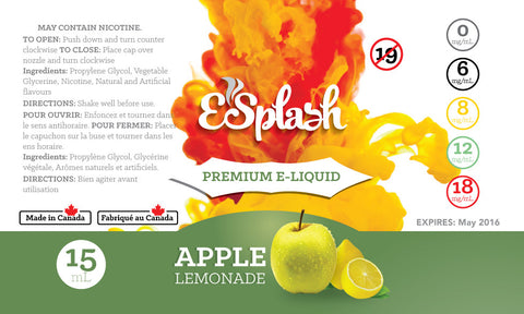 Apple Lemonade E-Splash 15ml
