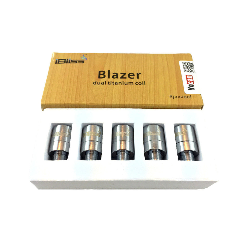 iBliss Blazer Replacement Dual Coils - 5 pack