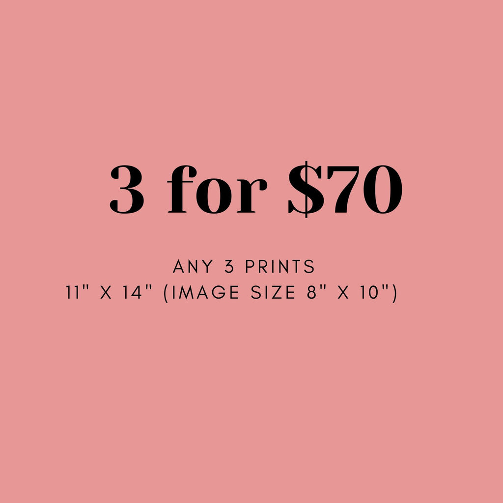 Set of 3 Paper Prints