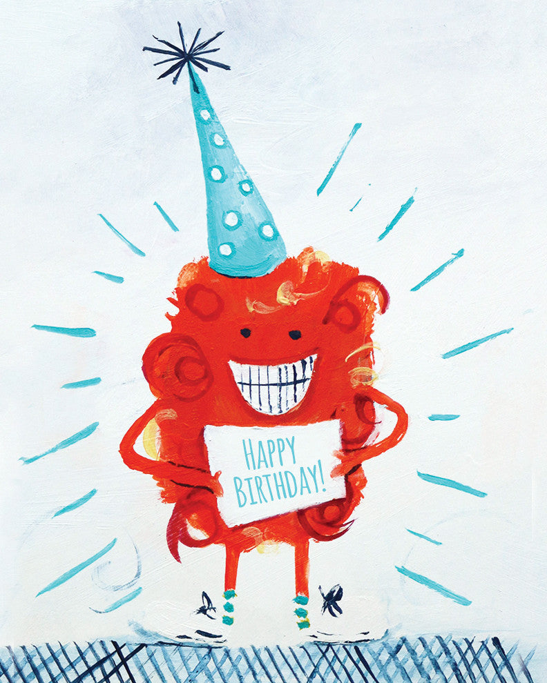 Birthday Monster Mini Card