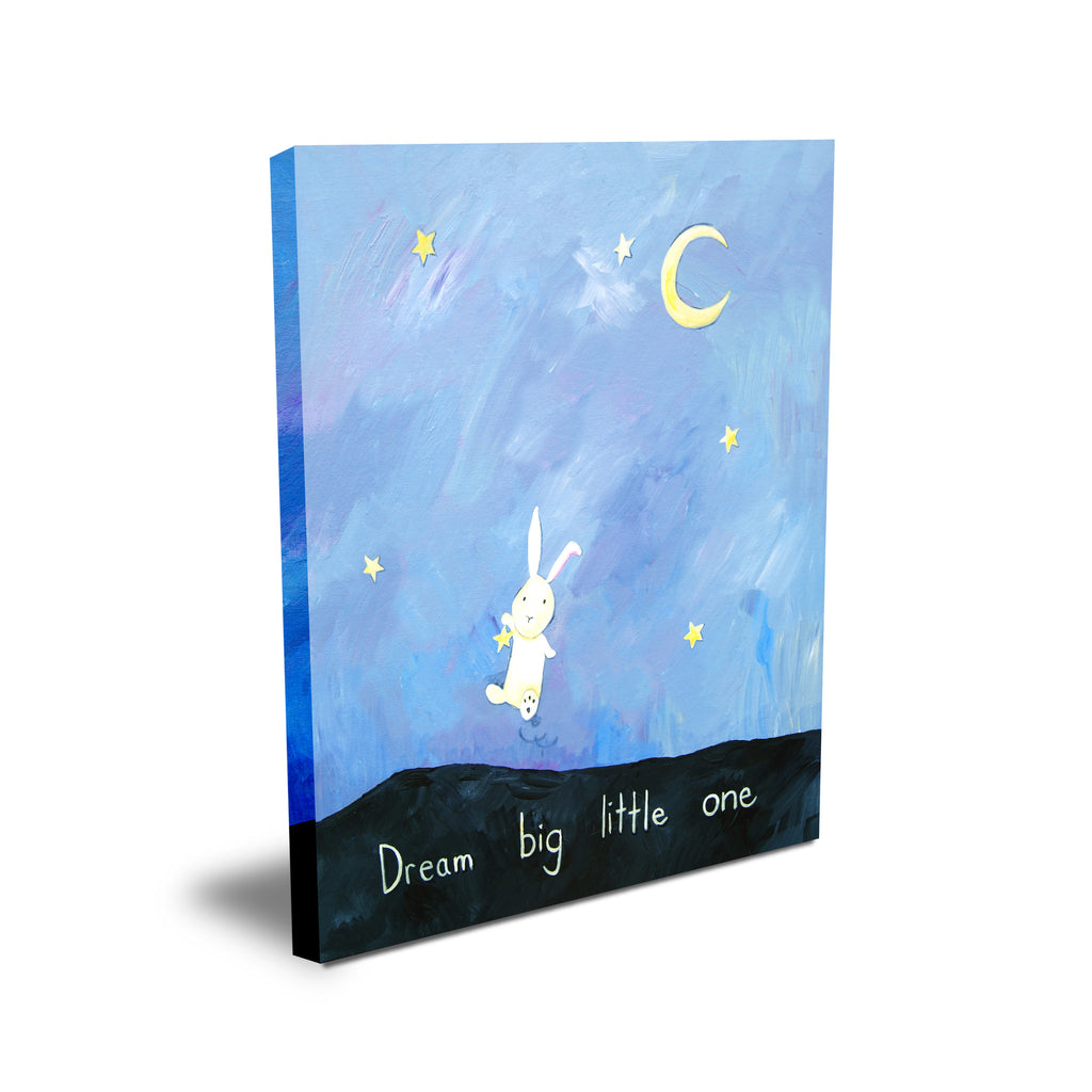 Dream Big Little One - Baby Prints for Nursery by Cici Art Factory