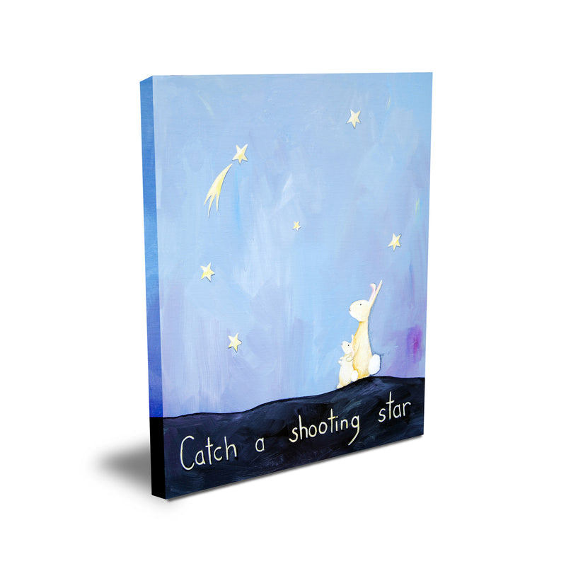 Catch a Shooting Star  - Baby Prints for Nursery by Cici Art Factory