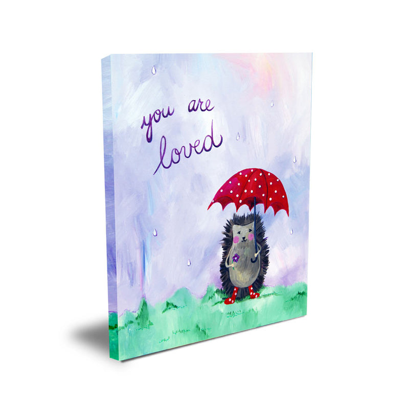 You are loved  - Baby Prints for Nursery by Cici Art Factory