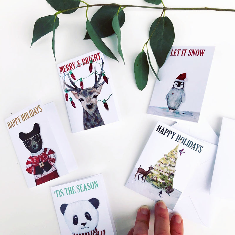 Christmas Bear Mini Card