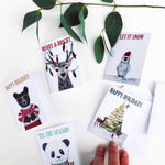 Christmas Mini Cards - 5 Designs