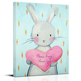Bunny nursery art print by Cici Art Factory