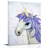 Unicorn decor for girls rooms by Cici Art Factory