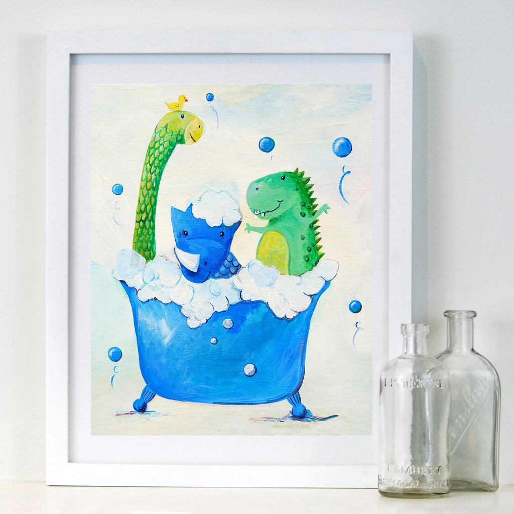 Dino Bath - Kids Bathroom Decor