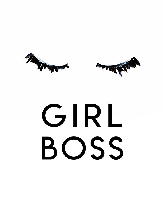 Girl Boss Mini Card