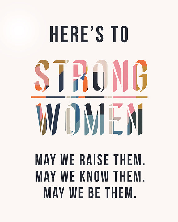 Strong Women Mini Card