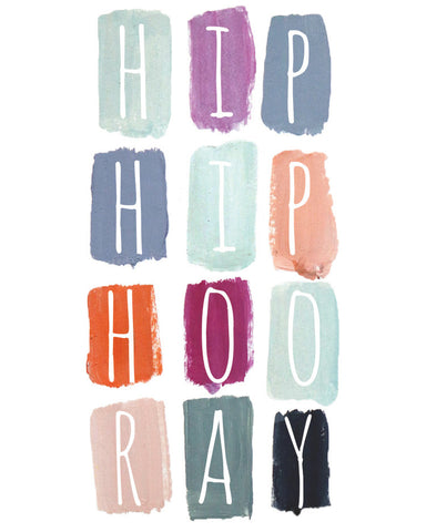 Hip Hip Hooray Mini Card