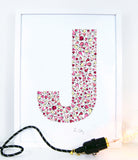 Lotsa J- letter art for kids