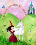 Princess art card by Cici Art Factory