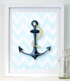 Anchor  - Baby Nursery Art