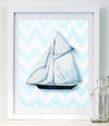 Ship - Art for Baby Nursery