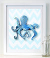 Octopus - Baby Nursery Art