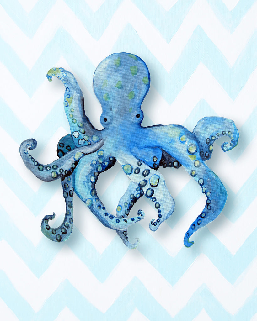 Octopus - Art for Baby Nursery