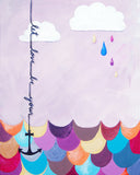 Let Love Be Your Anchor - Baby Nursery Art