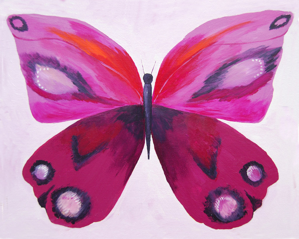 butterfly girls room decor - Butterfly Art Prints by Cici Art Factory