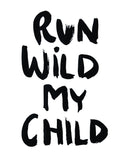 Run Wild Mini Card