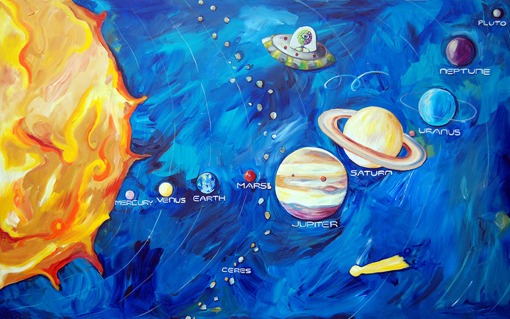 Solar System Art by Cici Art Factory