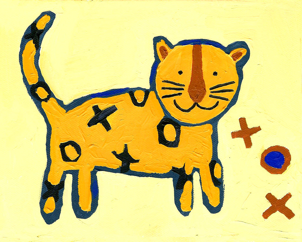 Tiger art card by Cici Art Factory