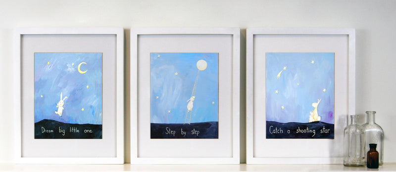 - Dream Big Art for Baby Nursery