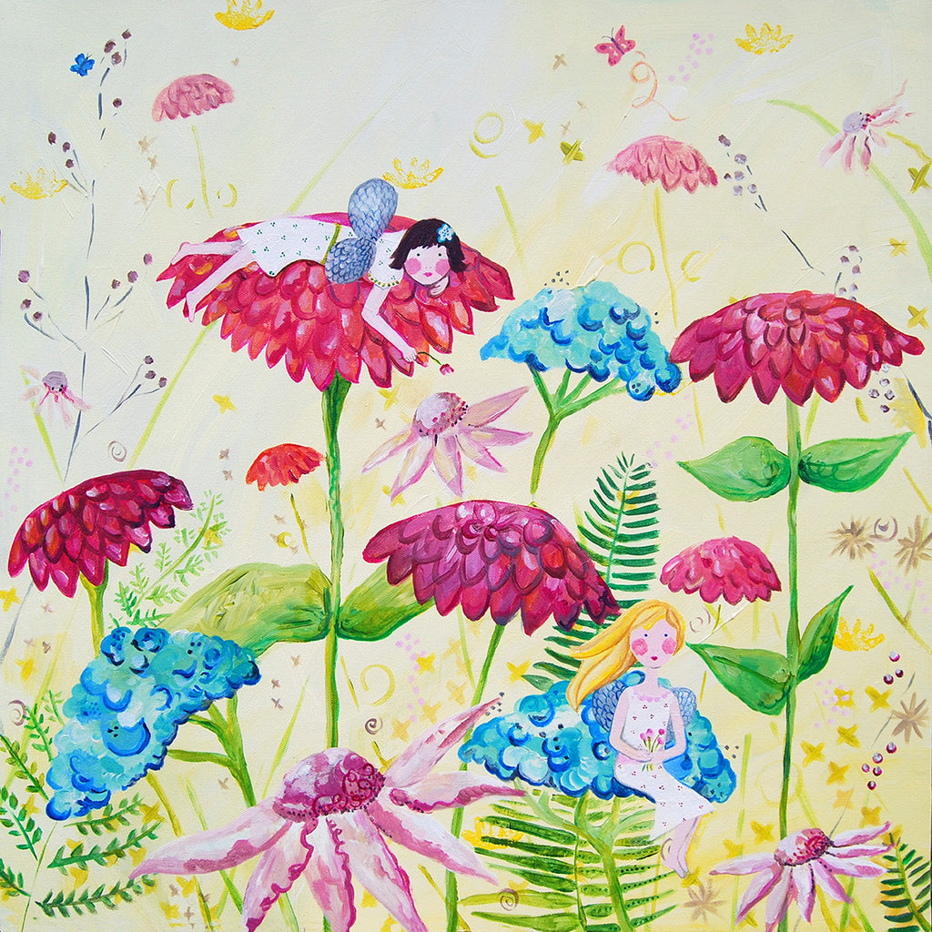 Fairy Art for Kids Rooms - Fairy Prints by Cici Art Factory