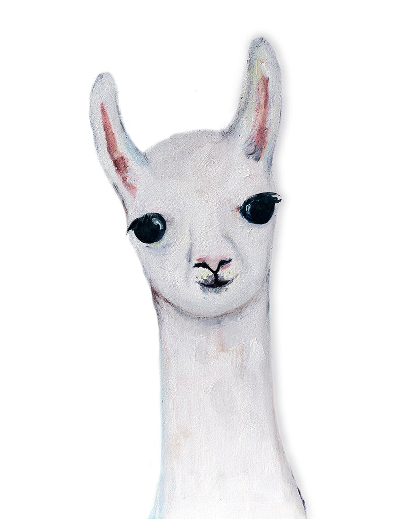 Llama nursery art by Liz Clay of Cici Art Factory