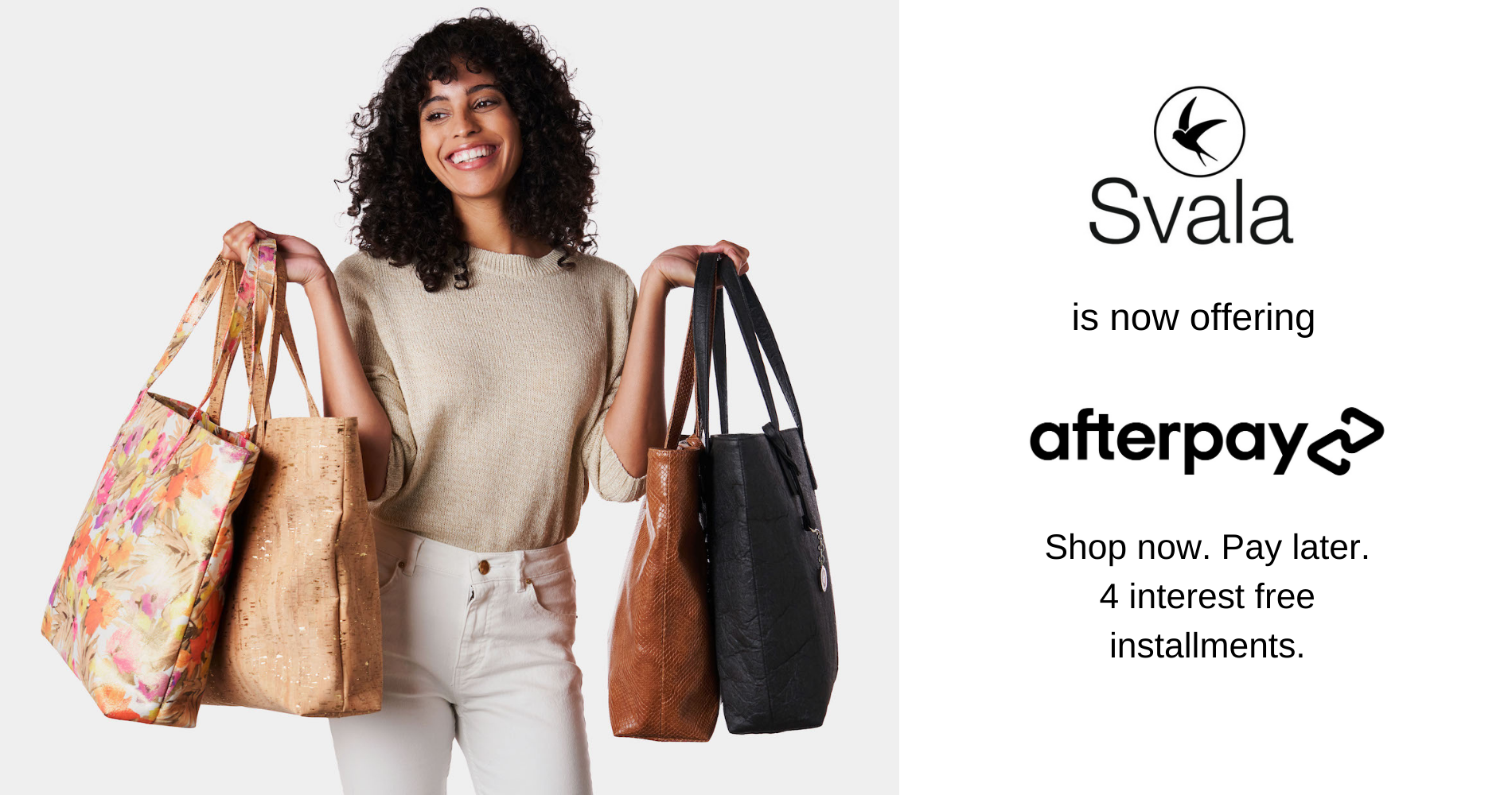 Svala offers Afterpay