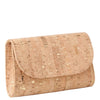 Svala vegan gold cork mini Didi clutch