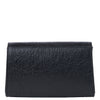 Svala vegan metallic black pinatex mini Didi clutch