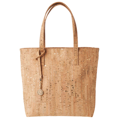 Svala vegan Simma Tote in natural gold cork