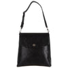 Black Faux Snakeskin Backpack Purse, Gemma, Svala