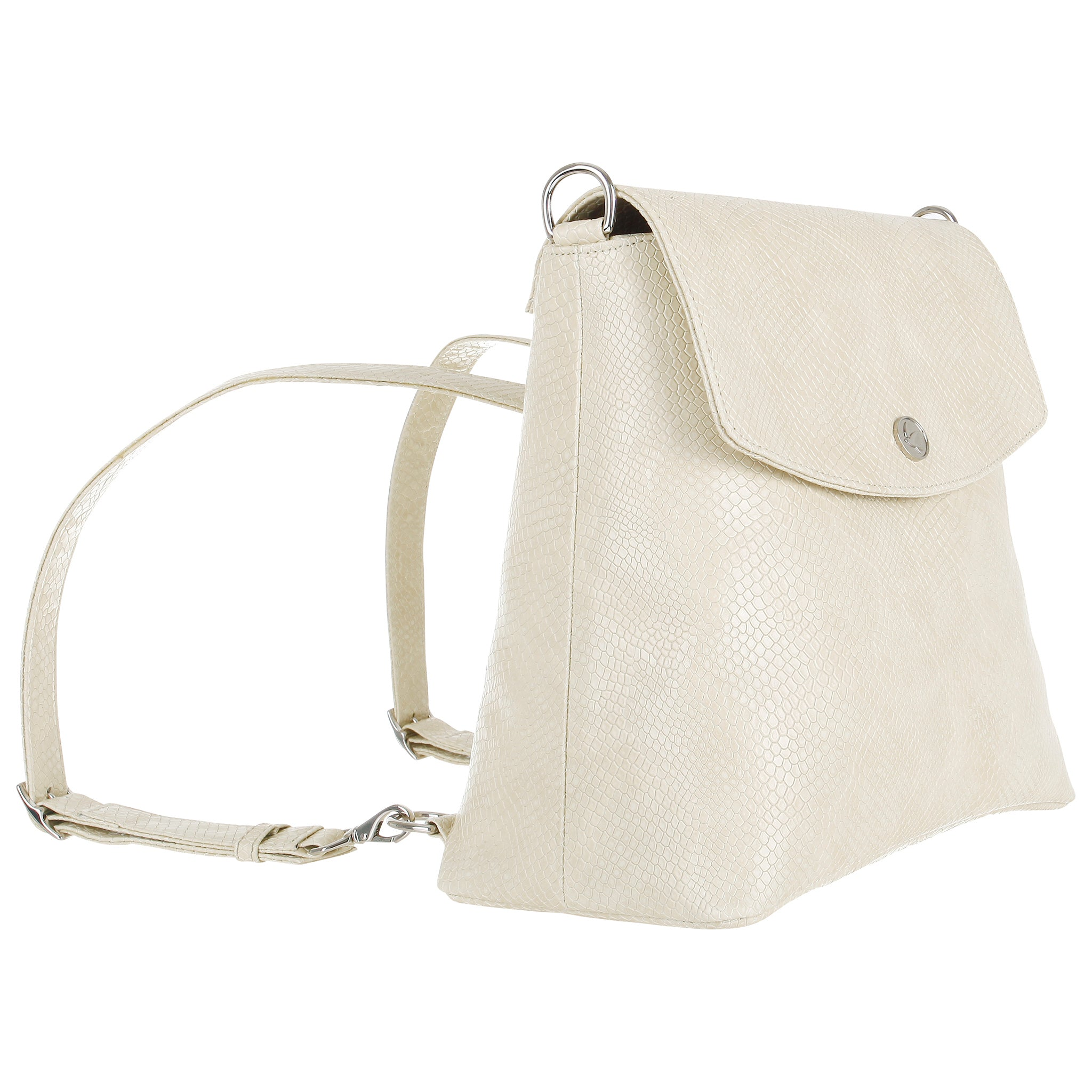 Svala vegan cream Gemma backpack purse