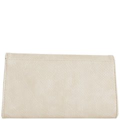 Svala luxury vegan cream Didi clutch chain strap handbag