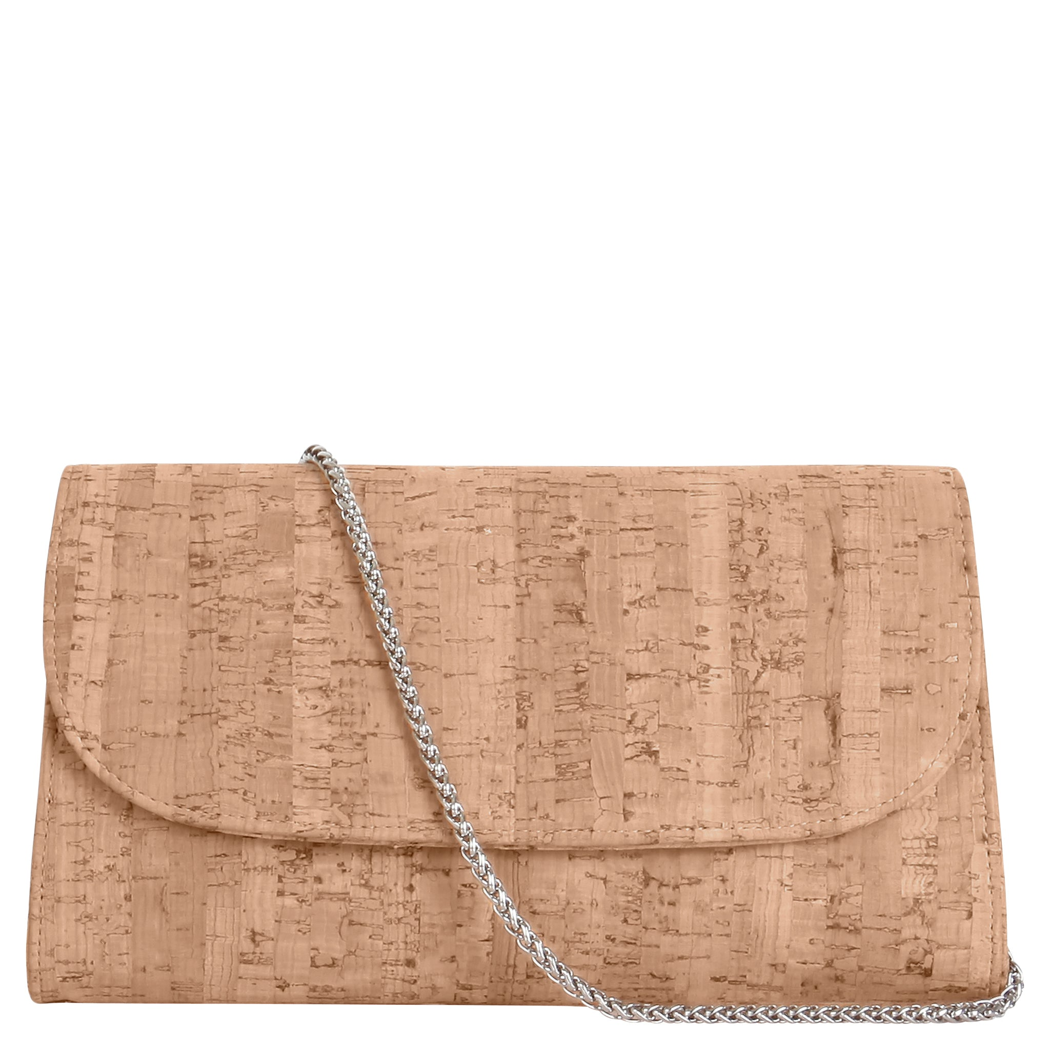 73731f78 Cork Clutch Purse with Detachable Chain Strap - Didi - Svala