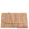 Cork Clutch Purse with Detachable Chain Strap, Didi, Svala