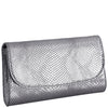 Svala luxury vegan silver Didi clutch chain strap handbag