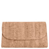 Svala luxury vegan natural cork clutch chain strap handbag