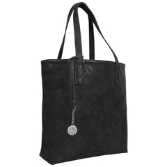 Svala luxury vegan black Simma Tote handbag